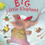"""Big Little Elephant"" book cover"