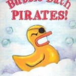 "Book cover for ""Bubble Bath Pirates!"" book"