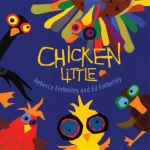 """""""Chicken Little"""" by Emberley book cover"""