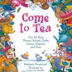 """DC Public Library  Catalogue Link to """"Come to Tea"""" book"""