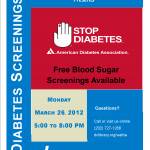 Diabetes - Free Blood Sugar Screenings