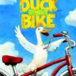 """Book cover for """"Duck on a Bike"""""""