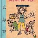 """Ellie McDoodle: Have Pen will Travel"" book cover"