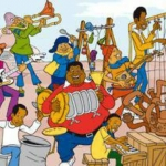 Picture of Fat Albert and his friends