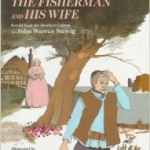 """""""The Fisherman and his Wife"""" by Stewig book cover"""