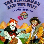 """""""The Fisherman and His Wife"""" by Wells book cover"""