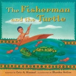"""""""THe Fisherman and the Turtle"""" book cover"""
