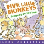 """""""Five Little Monkeys Jumping on the Bed"""" book"""