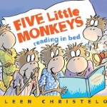 """Link to """"Five Little Monkeys Reading in Bed"""" book"""