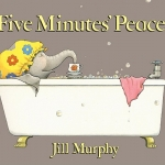 """DC Public Library Catalogue Link to """"Five Minutes Peace"""" book"""