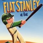 """Flat Stanley at Bat"" book cover"