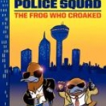 """Book cover of """"The Frog who Croaked"""" book"""