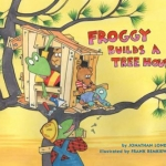 """DC Public Library Catalogu Link to """"Froggy Builds a Tree House"""""""