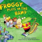 "DC Public Library Catalogue link to ""Froggy Plays in the Band"""
