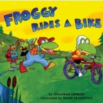 """DC Public Library Catalogue Link to """"Froggy Rides a Bike"""" book"""