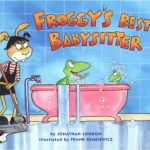 """DC Public Library Catalogue Link to """"Froggy's Best Babysitter"""" book"""