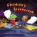 "DC Public Library Catalogue Link to ""Froggy's Sleepover"" book"
