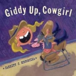 """Book cover for """"Giddy Up, Cowgirl"""" book"""