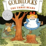 """""""Goldilocks and the Three Bears"""" by Marshall book cover"""