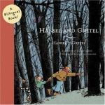 "DC Public Library Catalogue link to ""Hansel and Gretel"" bilingual book by Abeya"
