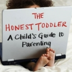 The Honest Toddler book cover