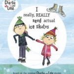 """I really, really need actual ice skates"" book cover"