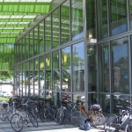 Tour de DCPL Participants park their bikes outside the library!