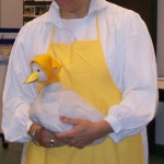 Childern's Librarian as Mother Goose