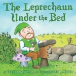 """Book cover """"Leprechaun under the bed"""""""