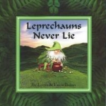 "Book cover ""Leprechauns never Lie"""
