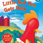 """""""The Little Red Hen Gets Help"""" by Spengler book cover"""