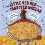 """""""The Little Red Hen and the Passover Matzah"""" book cover"""