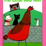 """""""The Little Red Hen"""" by Ziefert book cover"""