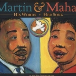 """Martin & Mahalia"" book cover"