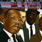 Martin Luther King Jr and The March on Washington cover art