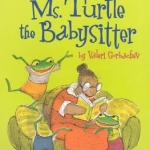 """""""Ms. Turtle the Babysitter"""" book cover"""