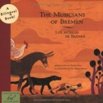 """DC Public Library Catalogue Link to """"The Musicians of Bremen"""" by Ros book"""