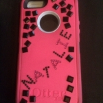 phone decorated with Natalie