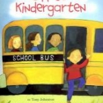 """Book cover for """"Off to Kindergarten"""""""