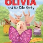"""Olivia and the Kite Party"" book cover"