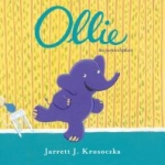 """Book cover for """"Ollie: The Purple Elephant"""" book"""