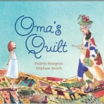 """""""Oma's Quilt"""" book cover"""