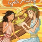 """""""Pandora gets Angry"""" book cover"""