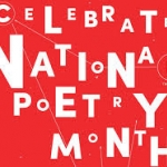 National Poetry Month lettering design