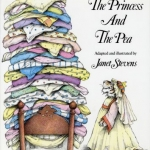 """DC Public Library Catalogue Link to """"The Princess and the Pea"""" by Stevens book"""