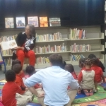 A special story time for a class visit
