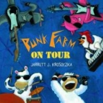 "Book cover for ""Punk Farm on Tour"" book"