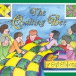 """""""The Quilting Bee"""" book cover"""
