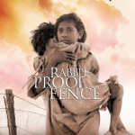 """Image of the movie poster for """"Rabbit-Proof Fence"""""""
