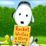 """DC Public Library Catalogue Link to """"Rocket Writes a Story"""" book"""